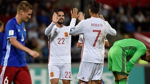 Liechtenstein 0-8 Tây Ban Nha
