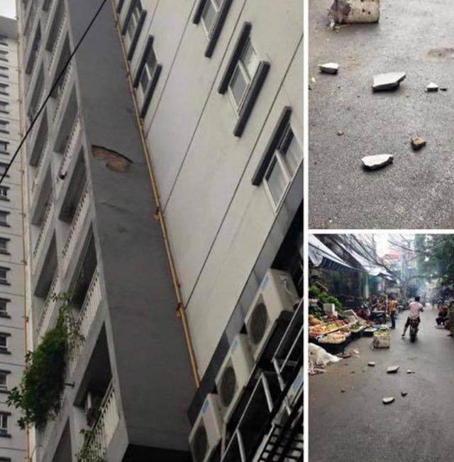 Hút chết với những 'vật thể bay': Dao, thớt, kính vỡ...từ trên cao các tòa chung cư