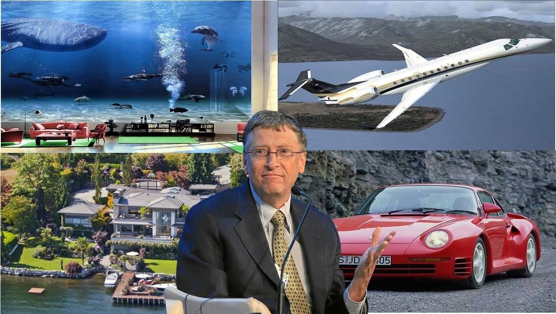 Gu chơi xe lạ của những người giàu nhất thế giới