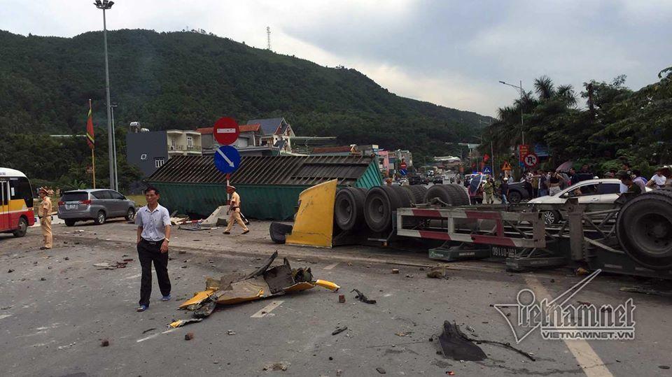 tai nạn giao thông, tai nạn, Quảng Ninh