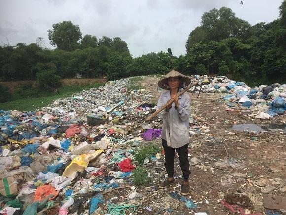 bãi rác, phế liệu, mưu sinh