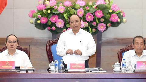 Thủ tướng: Xác định rõ nhiệm vụ gì có thể phân cấp cho TPHCM