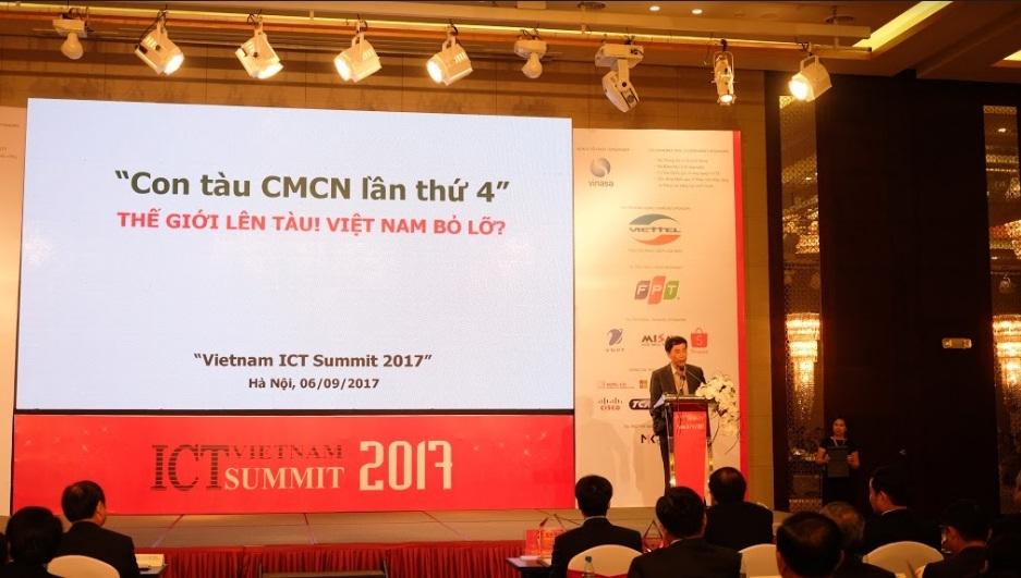 CMCN 4,Cách mạng Công nghiệp 4.0,CNTT,Truyền thông,ICT,ICT Summit
