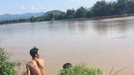 Nước lớn ập về, cuốn mất tích 3 người đang qua sông