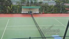 Sân tennis không mất tiền ngân sách nhưng lòng tin và uy tín thì sao?