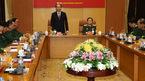 Chủ tịch nước làm việc với lãnh đạo Bộ Quốc phòng