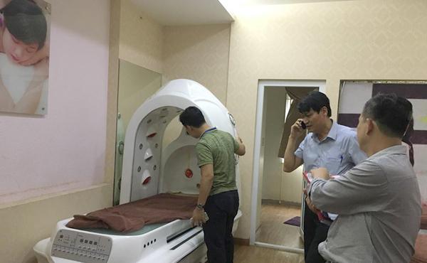 1 thẩm mỹ viện ở Hà Nội tiêm giảm béo không phép