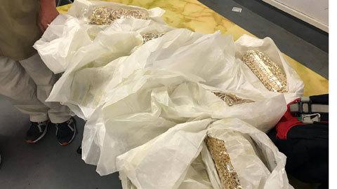 Phát hiện vụ buôn lậu vàng qua đường hàng không lớn nhất