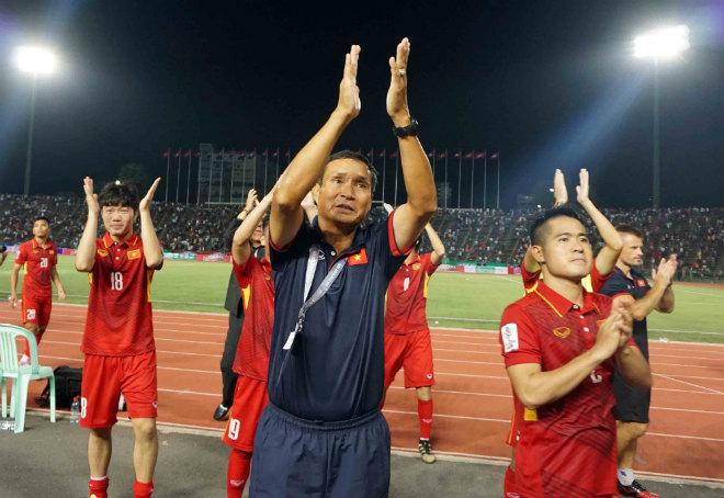 Tuyển Việt Nam,tuyển Campuchia,HLV Mai Đức Chung,VFF,vòng loại Asian Cup 2019