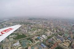 Hình ảnh hiếm hoi về Bình Nhưỡng nhìn từ trên cao