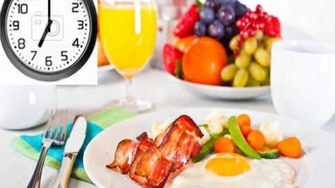 Nguyên tắc cho một bữa sáng hoàn hảo với người giảm cân
