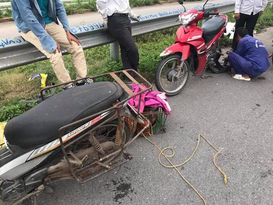 Đinh trên cao tốc Hà Nội - Bắc Giang do nhà máy sản xuất