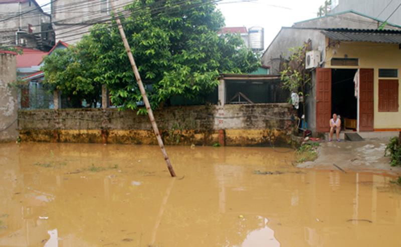 mưa lũ, ngập úng, Yên Bái