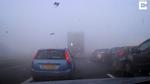 Tai nạn khủng khiếp trên cao tốc do sương mù dày đặc bất thường