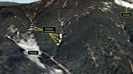 Ảnh vệ tinh tố Triều Tiên thử hạt nhân gây lở đất