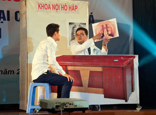 Học đường, sân cỏ Việt quyết liệt nói không với thuốc lá