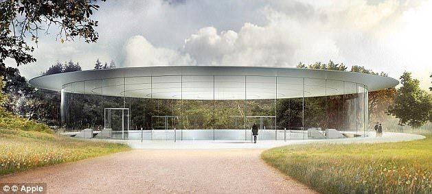 nhà hát Steve Jobs, Apple, trụ sở phi thuyền, iPhone 2017, bí mật