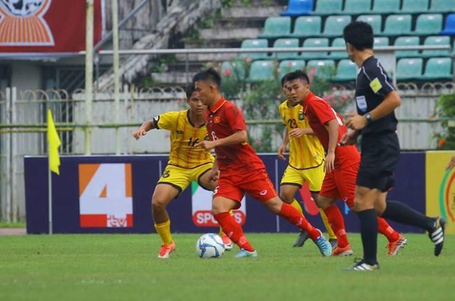 U18 Việt Nam, HLV Hoàng Anh Tuấn, trực tiếp bóng đá, giải U18 Đông Nam Á 2017