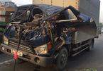 Xe tải húc nhau, tài xế chết kẹt trong cabin