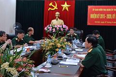 UB Kiểm tra Quân ủy TƯ đề nghị kỷ luật một số tổ chức, cá nhân