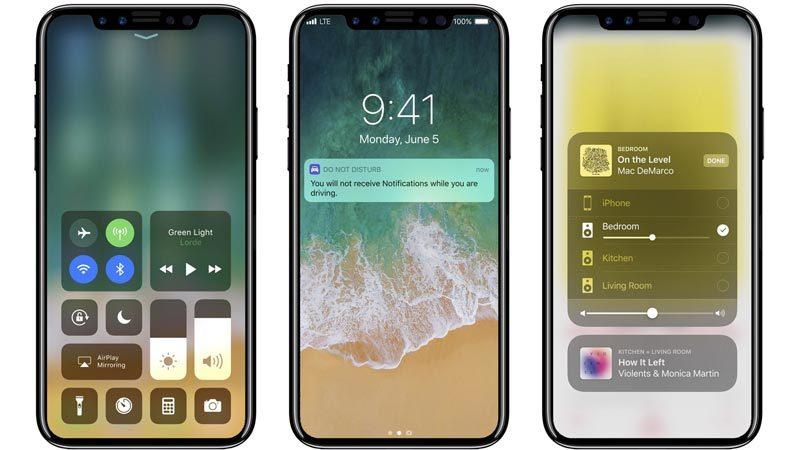 iPhone X, iPhone 8, Apple, smartphone, sản phẩm mới