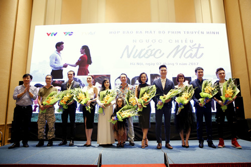 Ngược chiều nước mắt, Mạnh Trường,Trang Cherry, phim truyền hình, phim Việt Nam, làng sao