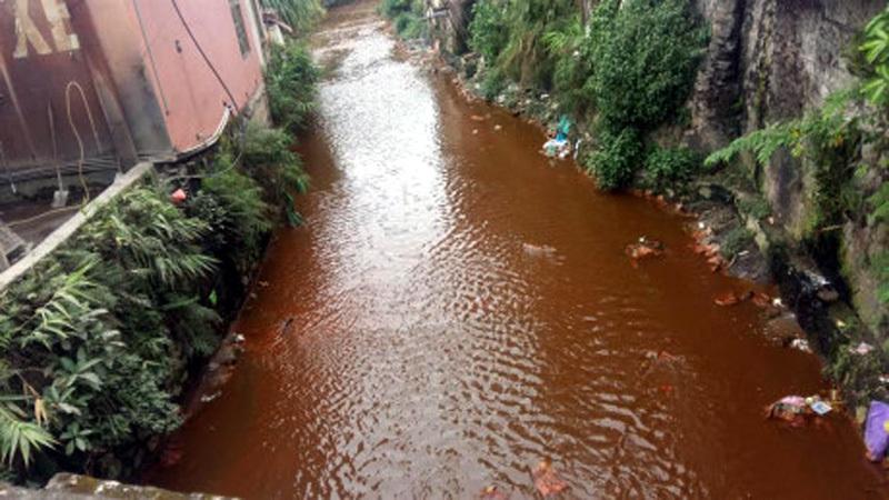 ô nhiễm, nước đổi màu, Quảng Ninh