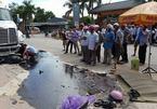 Xe container nghiền nát xe máy, 2 người tử vong