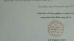 Giả chữ ký, con dấu Sở NN&PTNT để khất nợ