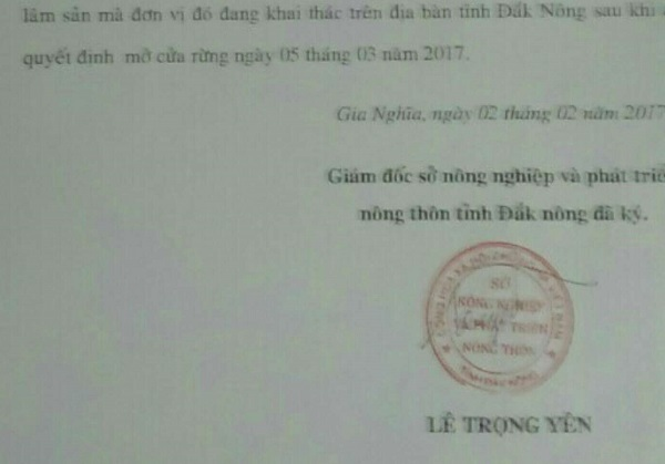 giả mạo, chữ ký, khất nợ, sở NN-PTNT, TP.HCM, Đắk Nông