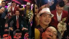 Hình ảnh không bao giờ được lên sóng của MC Lại Văn Sâm