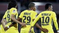 """Neymar và Mbappe đua nhau nổ súng, PSG thắng """"5 sao"""""""
