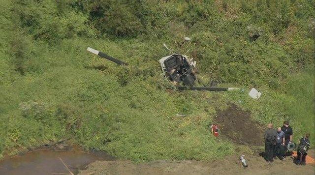 Một ca sĩ chết thảm do tai nạn trực thăng