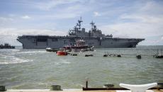 Quân đội Mỹ nhận lệnh bắn hạ tên lửa Triều Tiên, tàu đổ bộ tấn công lên đường