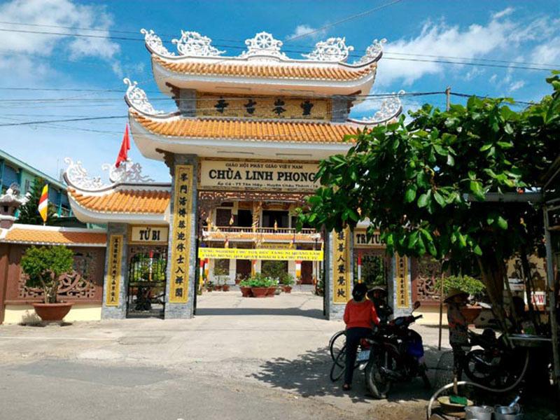 điện giật, tử vong, chùa Linh Phong, Tiền Giang