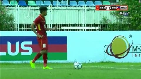 U18 Việt Nam vs U18 Philippines
