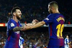 """Messi nổ hat-trick, Barca đại thắng """"5 sao"""""""