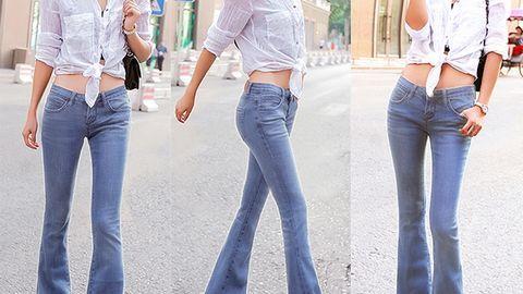 5 kiểu quần jeans khắc phục các nhược điểm cơ thể