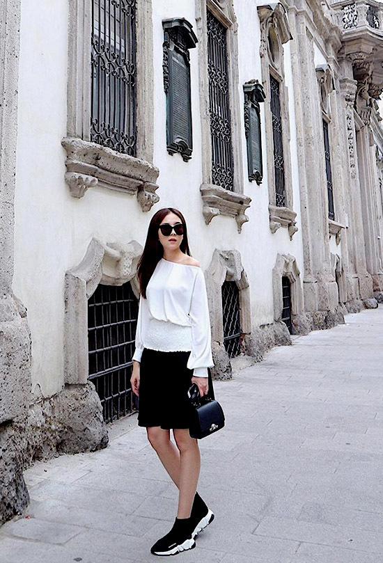 Hoàng Thùy Linh, Thanh Hằng, Kỳ Duyên, street style