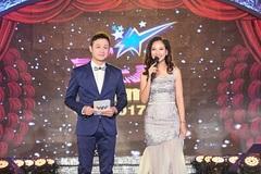 MC Mỹ Vân lộng lẫy bên Anh Tuấn tại Chung kết Sao Mai