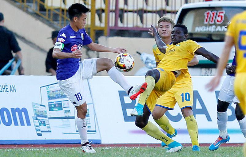 HAGL, Hà Nội FC, V-League, SLNA, FLC Thanh Hóa, Sài Gòn FC
