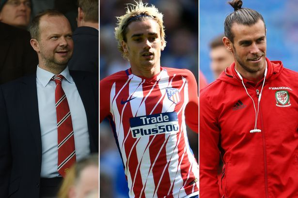MU, Mourinho, Bale, Griezmann, Ancelotti, Bayern Munich