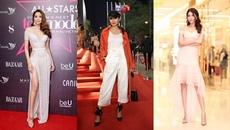Phạm Hương toả sáng với đầm ánh kim, Thanh Hằng 'chất lừ' với phong cách menswear