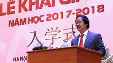 Lễ khai giảng thứ hai của Trường ĐH Việt Nhật