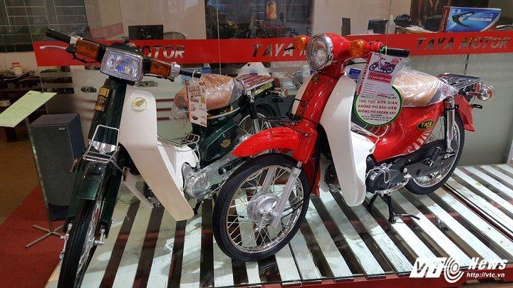 'Anh em sinh đôi nhưng khác bố' với Honda Super Cub, giá chỉ 12 triệu
