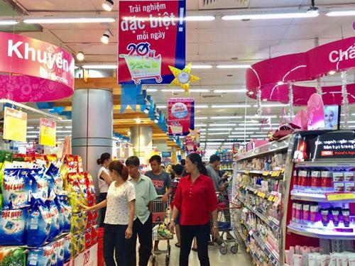 Co.opmart lại giảm giá mạnh vào 3 ngày cuối tuần