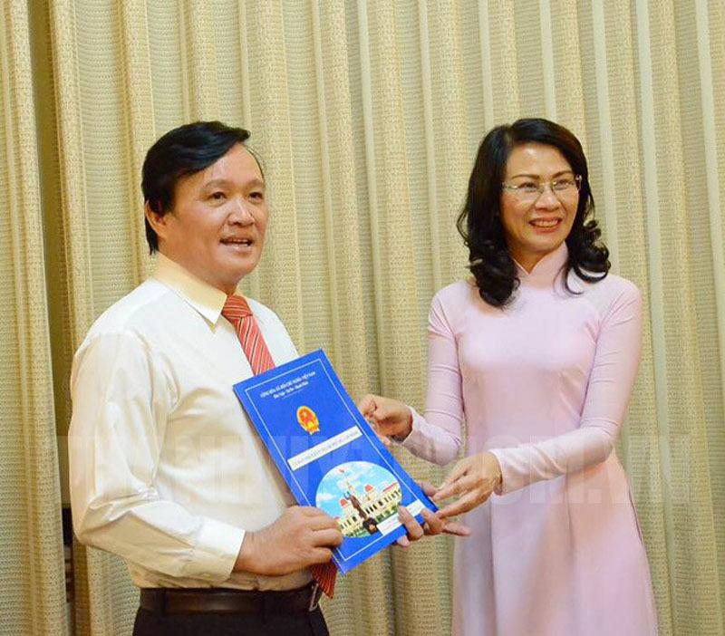 Bổ nhiệm nhân sự chủ chốt TP.HCM, Nghệ An