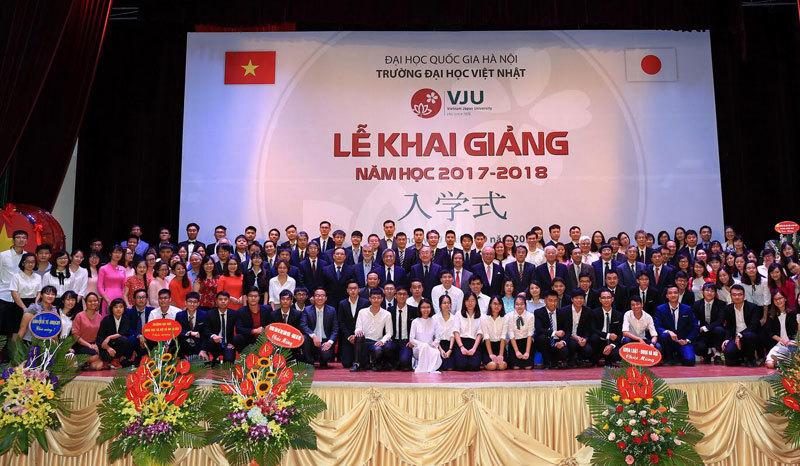 khai giảng, lễ khai giảng, Trường ĐH Việt Nhật, ĐHQG Hà Nội