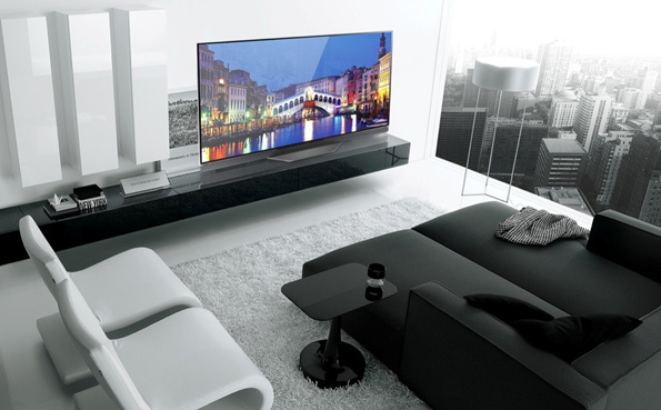Nâng cấp phòng khách hiện đại với TV OLED đẳng cấp