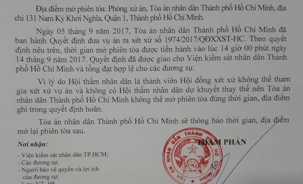 ĐH Hoa Sen, TP.HCM, Khởi kiện, Phi lợi nhuận